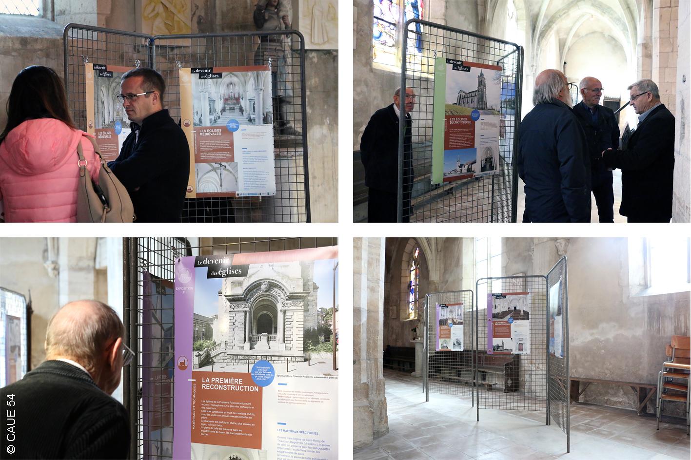 """Exposition  """"Le devenir des églises"""""""