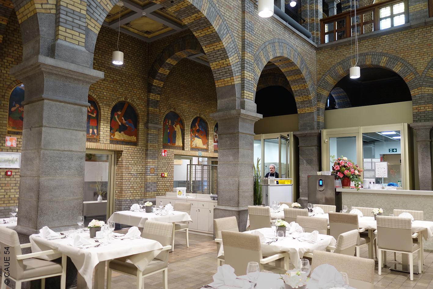 Maison de retraite Saint-Vincent, restaurant - Louvain - Belgique